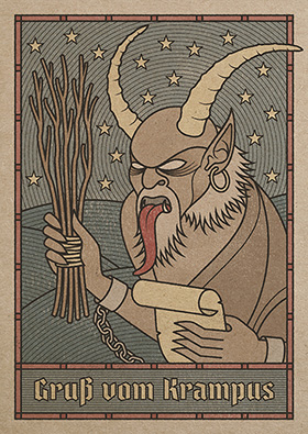 Krampus by Andy Gosling